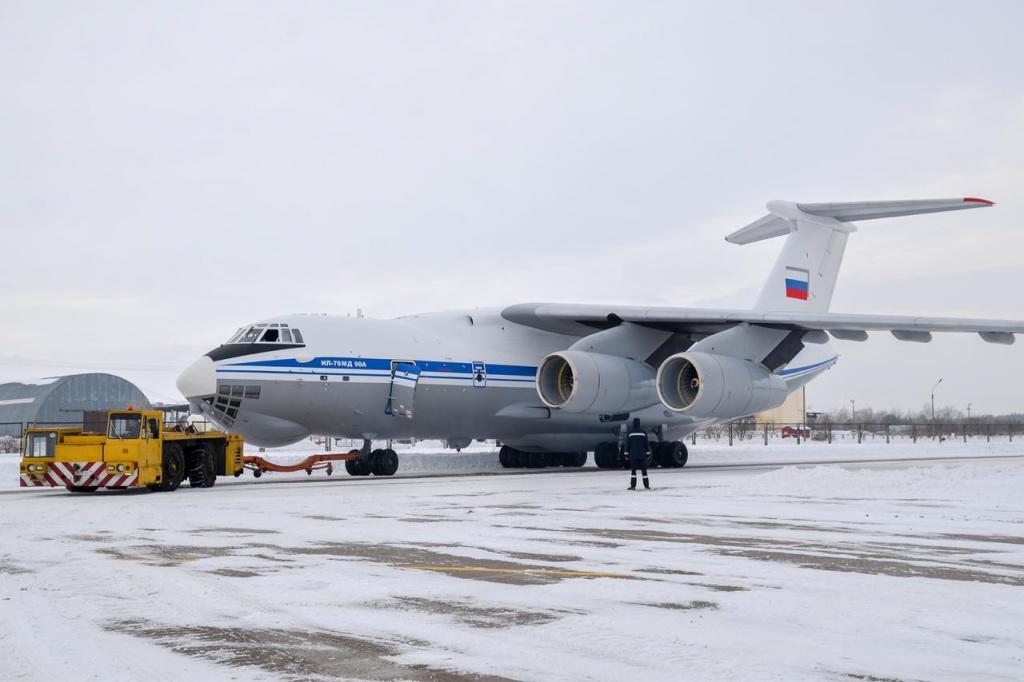 Ил-76МД-90А готов к работе в Арктике